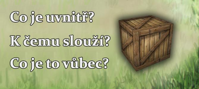 Co jsou záhadné bedny ve hře?