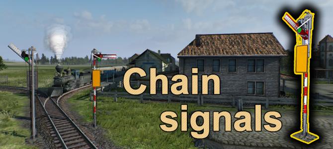 Chain signals – nyní vyřešíte vše!