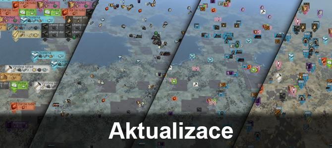 Aktualizace: mapové ikony